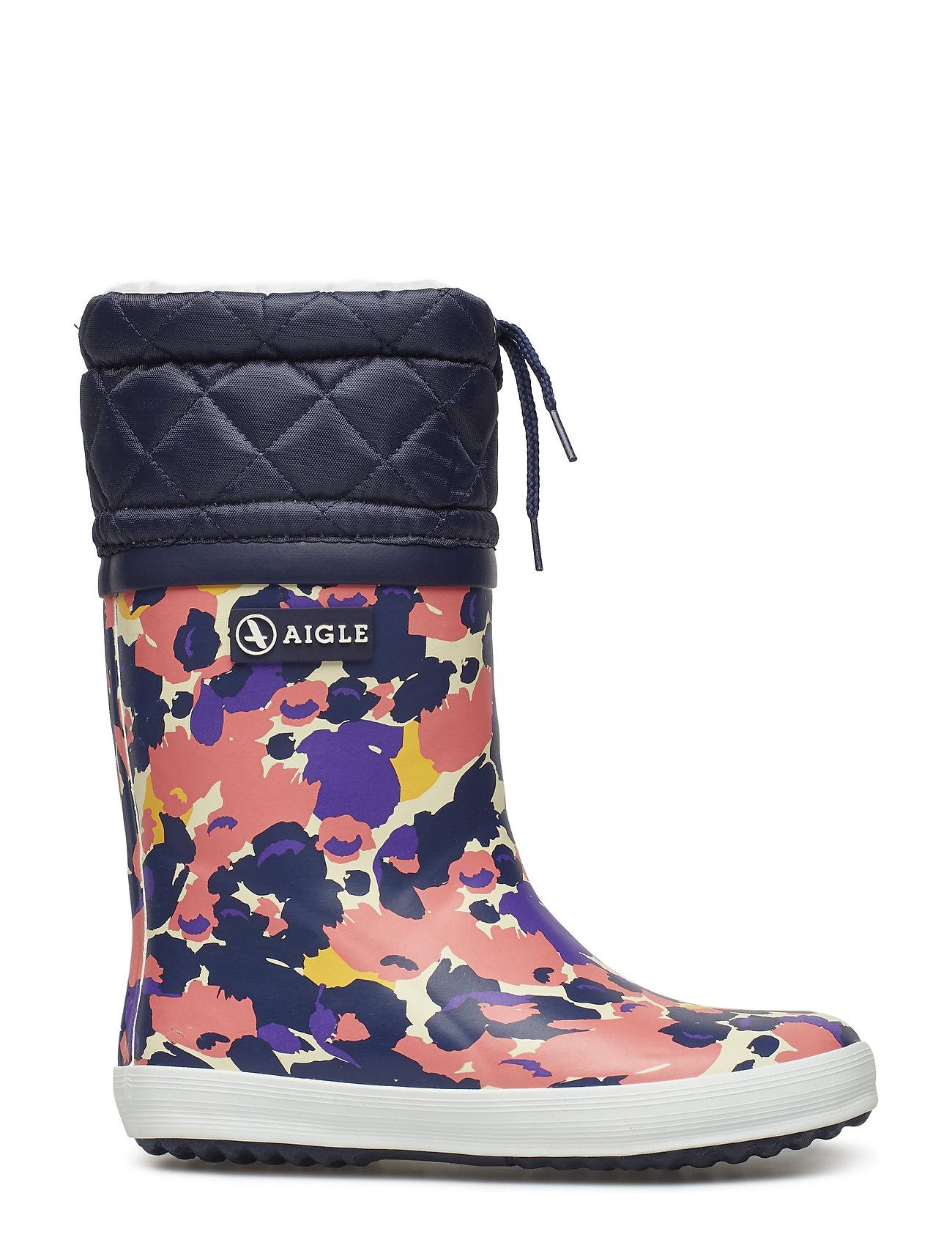 5b4971eebbd Ai Giboulee Print Flower gummistøvler fra Aigle til børn i FLOWER ...