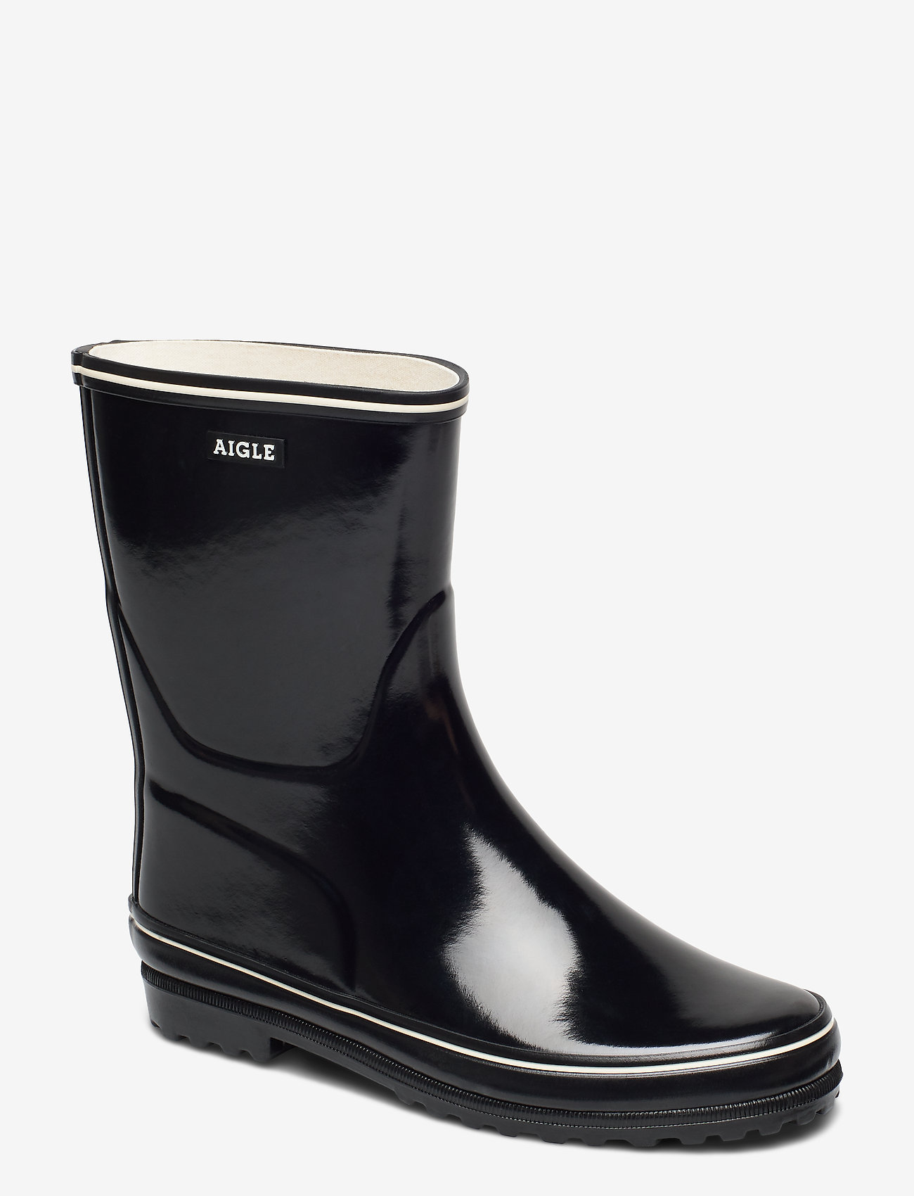 Aigle - AI VENISE BOTTIL NOIR - bottes de pluie - 24529 - 0