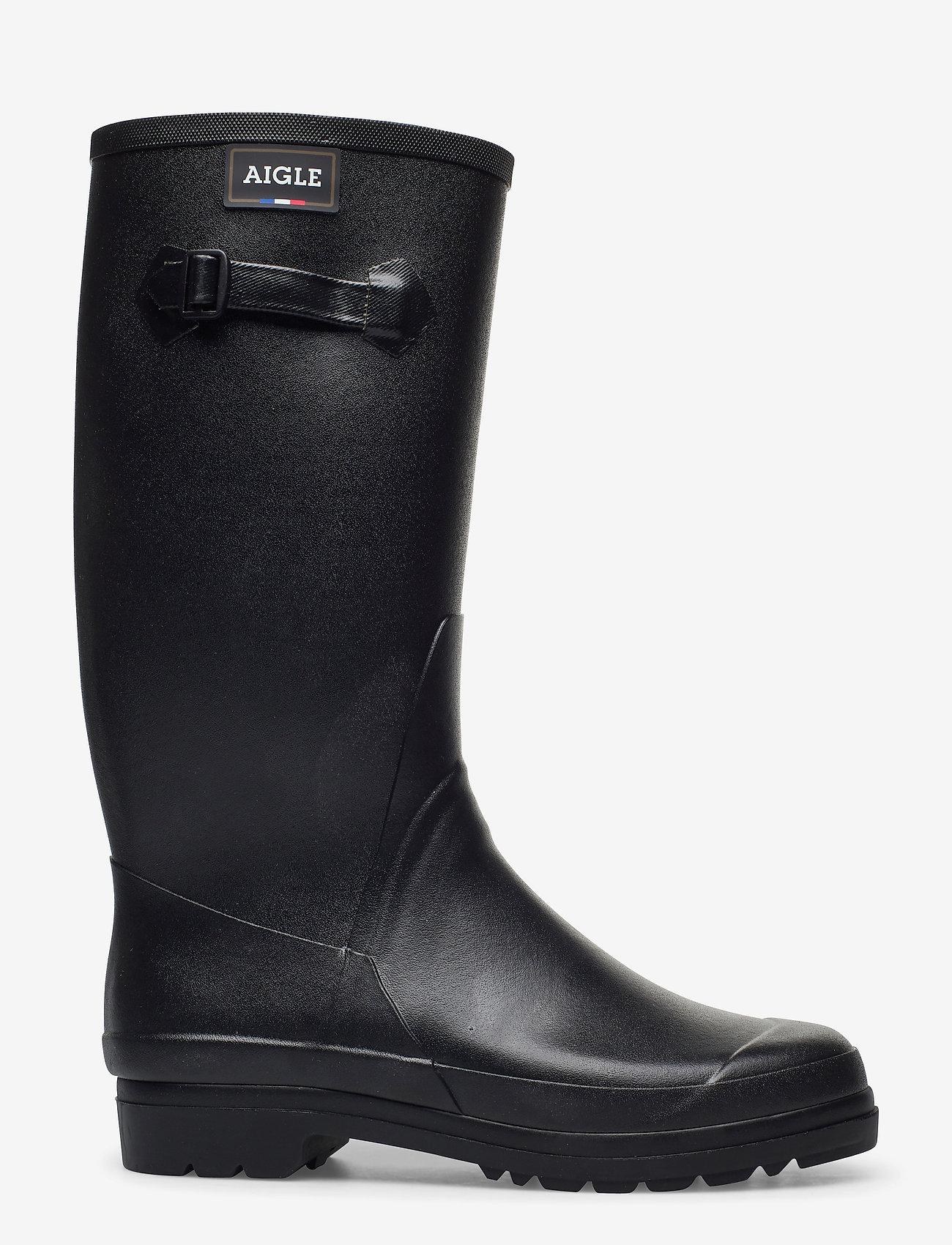 Aigle - AI CESSAC LADY NOIR - regenlaarzen - noir - 1