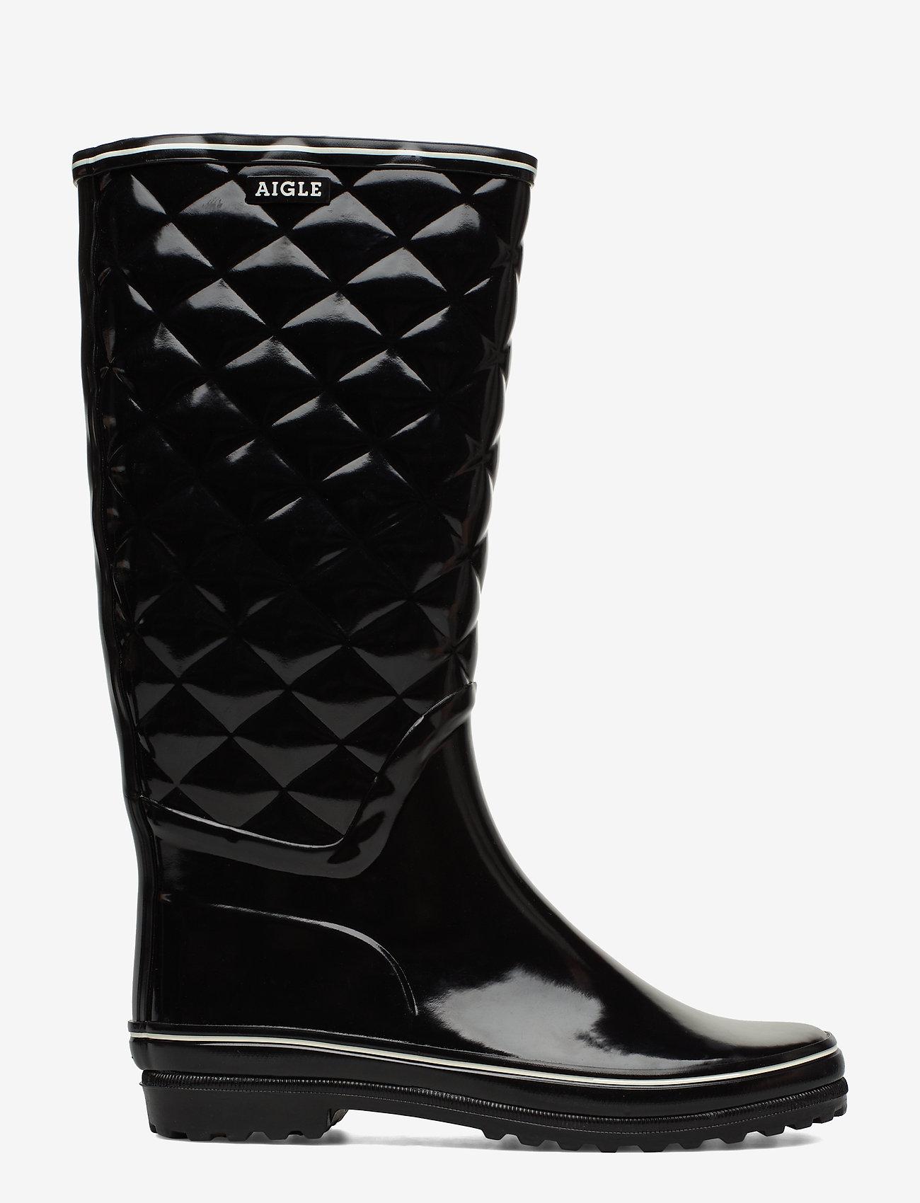 Aigle - AI VENISE QUILT NOIR - bottes de pluie - 38219 - 1