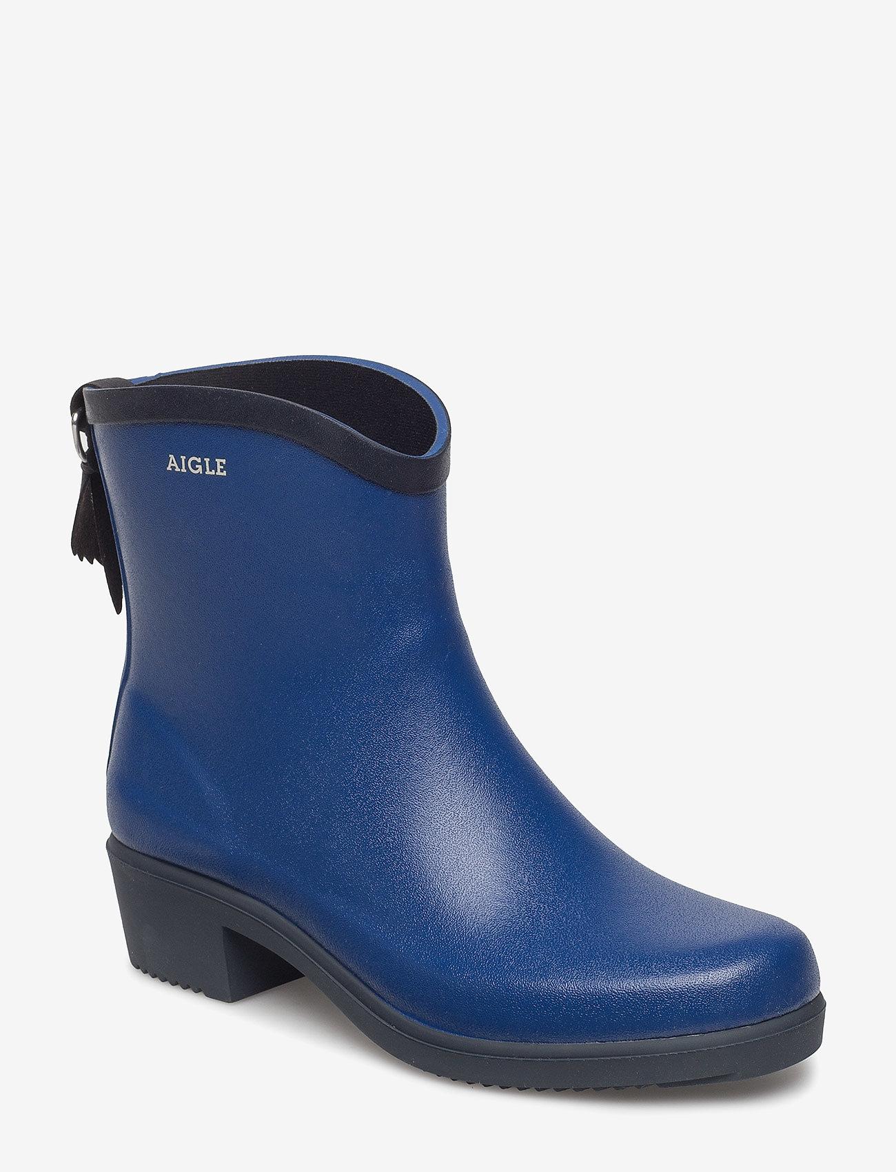 Aigle - AIGLE MS JULIETTE BOT KLEIN/MARIN - kumisaappaat - klein/marine