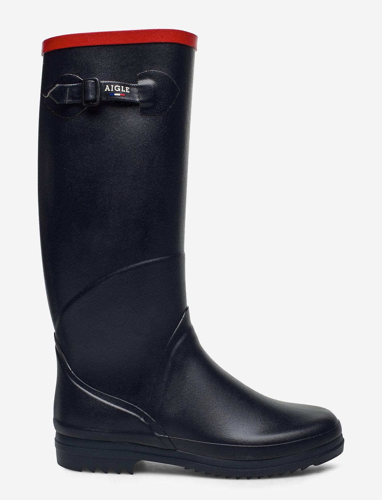 Aigle - AI CHANTEBELLE JP2 MARINE - bottes de pluie - marine - 1