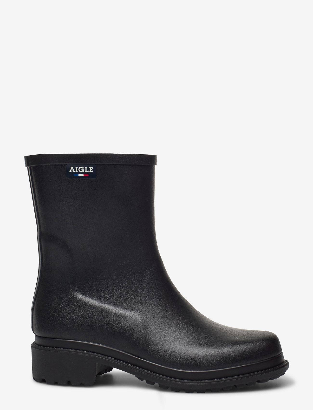 Aigle - AI FULFEEL MID NOIR - bottes de pluie - noir - 1
