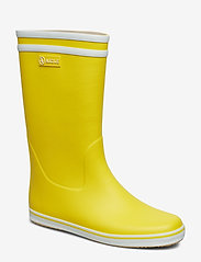 Aigle - AI MALOUINE JAUNE/BLANC - buty - jaune/blanc - 0