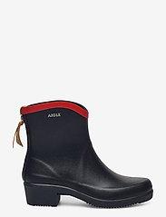 Aigle - AI MS JULIETTE BOTTILLO MARINE - bottes de pluie - marine/rouge - 1