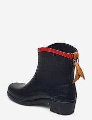 Aigle - AI MS JULIETTE BOTTILLO MARINE - bottes de pluie - marine/rouge - 2
