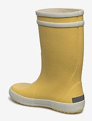 Aigle - AI LOLLYPOP - regntøy - jaune/blanc - 1