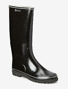 VENISE - bottes de pluie - noir