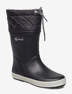 AI GIBOULEE NOIR/BLANC - bottes en chaouthouc - noir/blanc