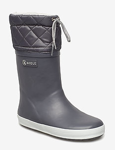 AI GIBOULEE CHARCOAL/GRIS - gummistøvler - charcoal/gris