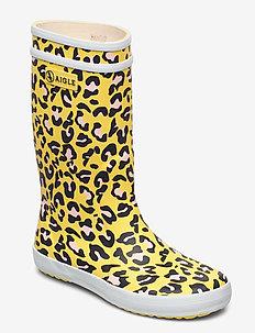 AI LOLLY POP KID LEOPARD - gummistøvler - leopard