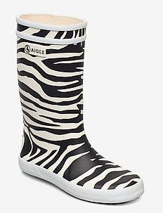 AI LOLLY POP KID ZEBRE - bottes en chaouthouc - zebre