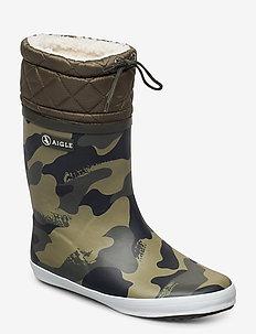 AI GIBOULEE PRINT CAMOU/KAKI - vinter boots - camou/kaki