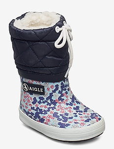 AI GIBOULEE PRINT SANDY/BLUE - winterstiefel - sandy/blue