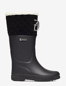 AI POLKA GIBOULEE NEW NOIR - warm lined boots - new noir