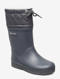 AI WOODY WARM CHARCOAL - gummistøvler - charcoal