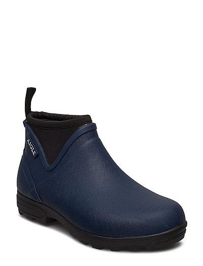 Ai Landfor Marine Gummistiefel Schuhe Blau AIGLE