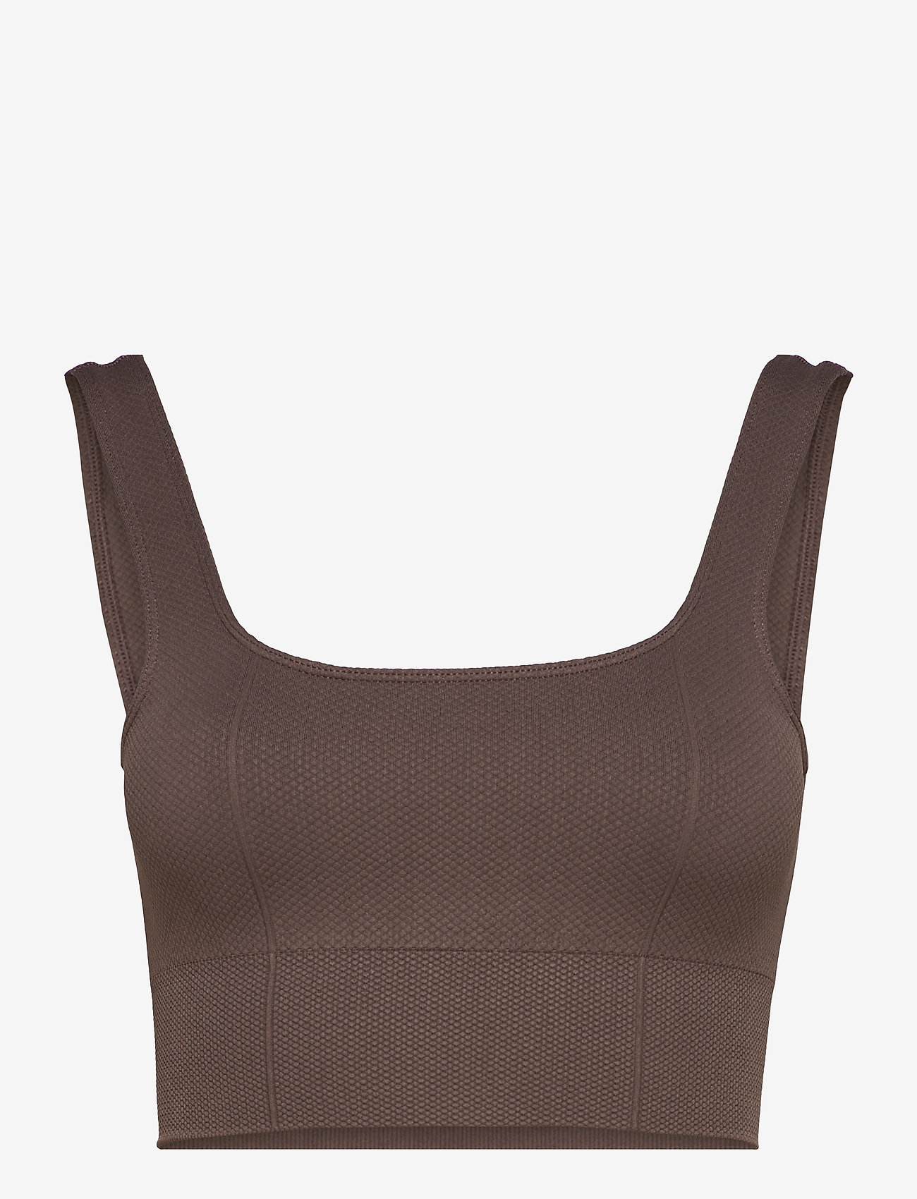 AIM'N - Macchiato Luxe Seamless Bra - sport bras: low support - macchiato - 1