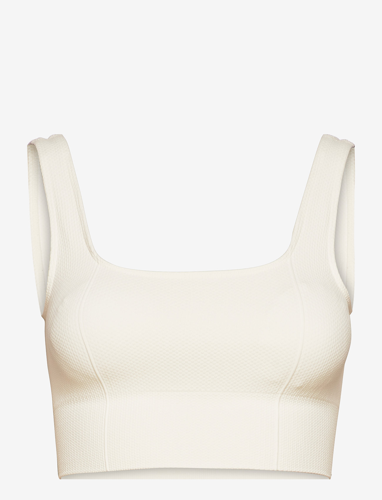 AIM'N - Off-White Luxe Seamless Bra - sport bras: low support - off-white - 0