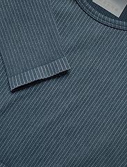 AIM'N - Ocean Washed Ribbed Seamless Crop Long Sleeve - topjes met lange mouwen - ocean - 4