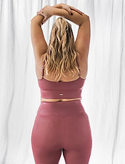 AIM'N - Pink Beat Shine On Strap Bra - sport bras: low - pink - 3