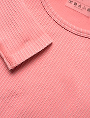 AIM'N - Bubblegum Washed Ribbed Crop Long Sleeve - topjes met lange mouwen - bubblegum - 4