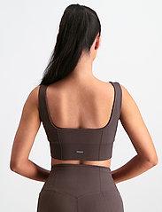 AIM'N - Macchiato Luxe Seamless Bra - sport bras: low support - macchiato - 3