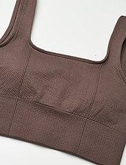 AIM'N - Macchiato Luxe Seamless Bra - sport bras: low support - macchiato - 6