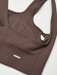 AIM'N - Macchiato Luxe Seamless Bra - sport bras: low support - macchiato - 7