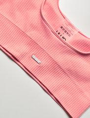 AIM'N - Peach Ribbed Seamless Bra - sport bras: medium support - peach - 9