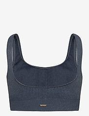 AIM'N - Ocean Washed Ribbed Seamless Bra - sport bras: medium - ocean - 2