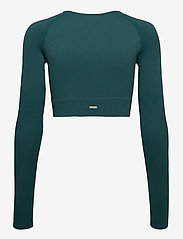 AIM'N - Hydro Ribbed Seamless Crop Long Sleeve - topjes met lange mouwen - hydro - 2
