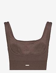 AIM'N - Macchiato Luxe Seamless Bra - sport bras: low support - macchiato - 2