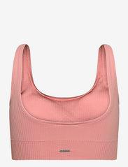 AIM'N - Peach Ribbed Seamless Bra - sport bras: medium support - peach - 2