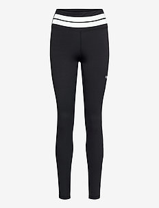 Line Up Tights - sportleggings - black
