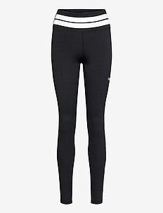 Line Up Tights - löpnings- och träningstights - black