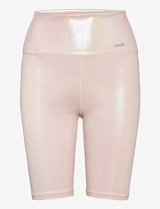Cream Shine On Biker Shorts - spodenki treningowe - cream