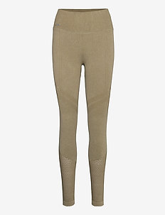 Wild Olive Statement Seamless Tights - løpe- og treningstights - wild olive