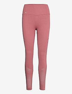 Pink Beat Statement Seamless Tights - sportleggings - pink