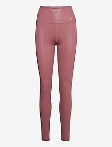 Pink Beat Shine On Tights - running & training tights - pink