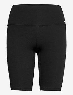 Word Black Soft Biker Shorts - treenishortsit - black