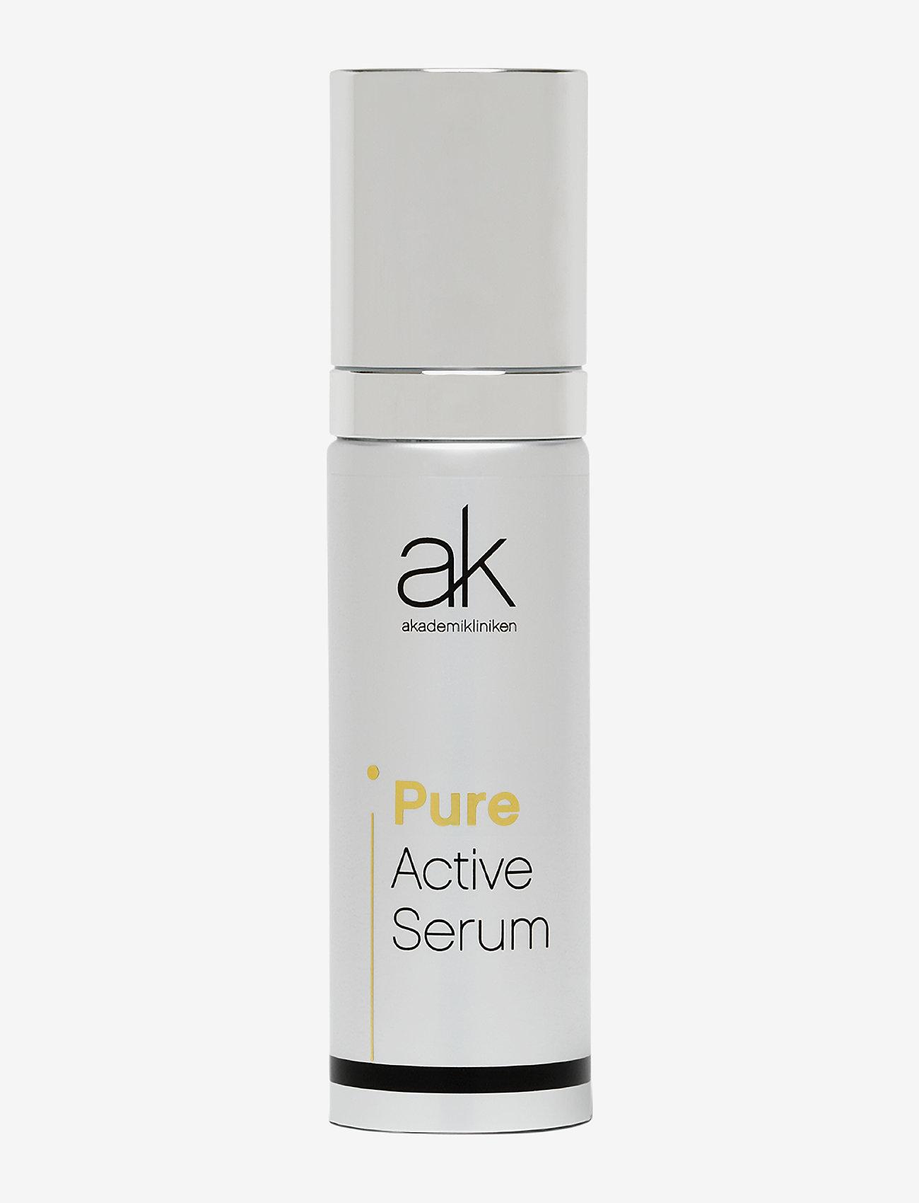 Akademikliniken Skincare - Pure Active Serum - serum - clear - 0