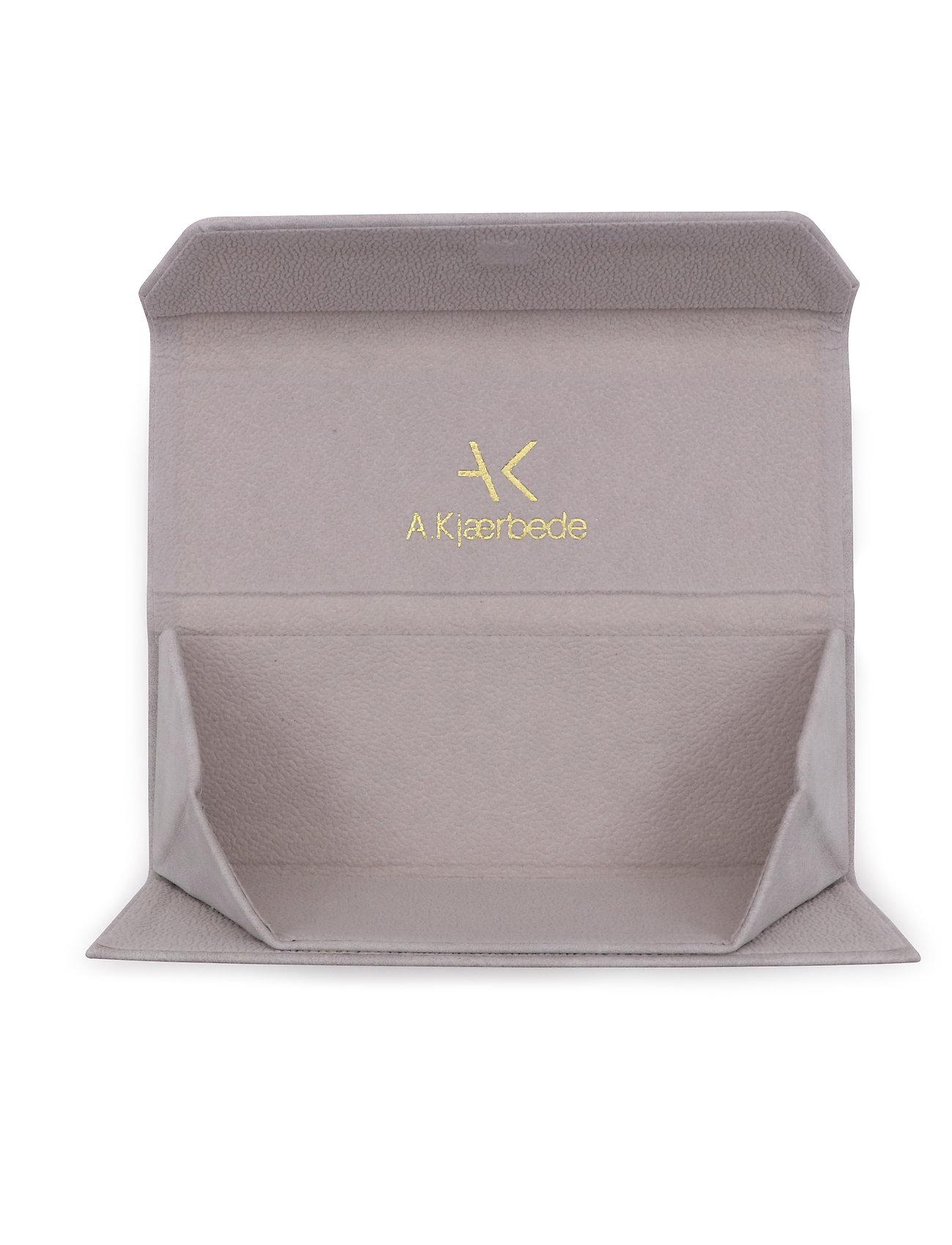 A.Kjærbede - Fold Case - brillenetuis - grey - 0
