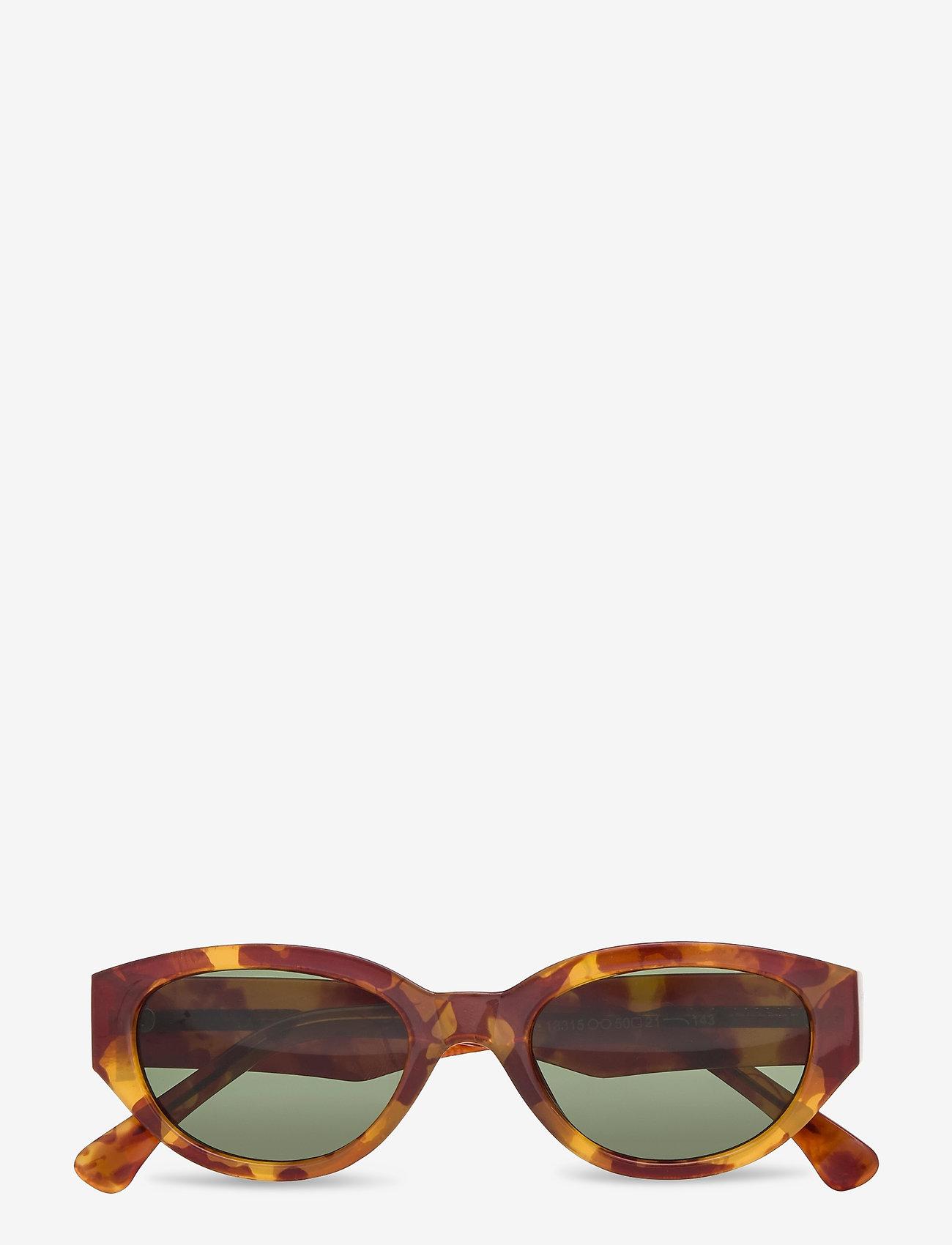 A.Kjærbede - Winnie - d-vormige zonnebril - demi light brown transparent - 1