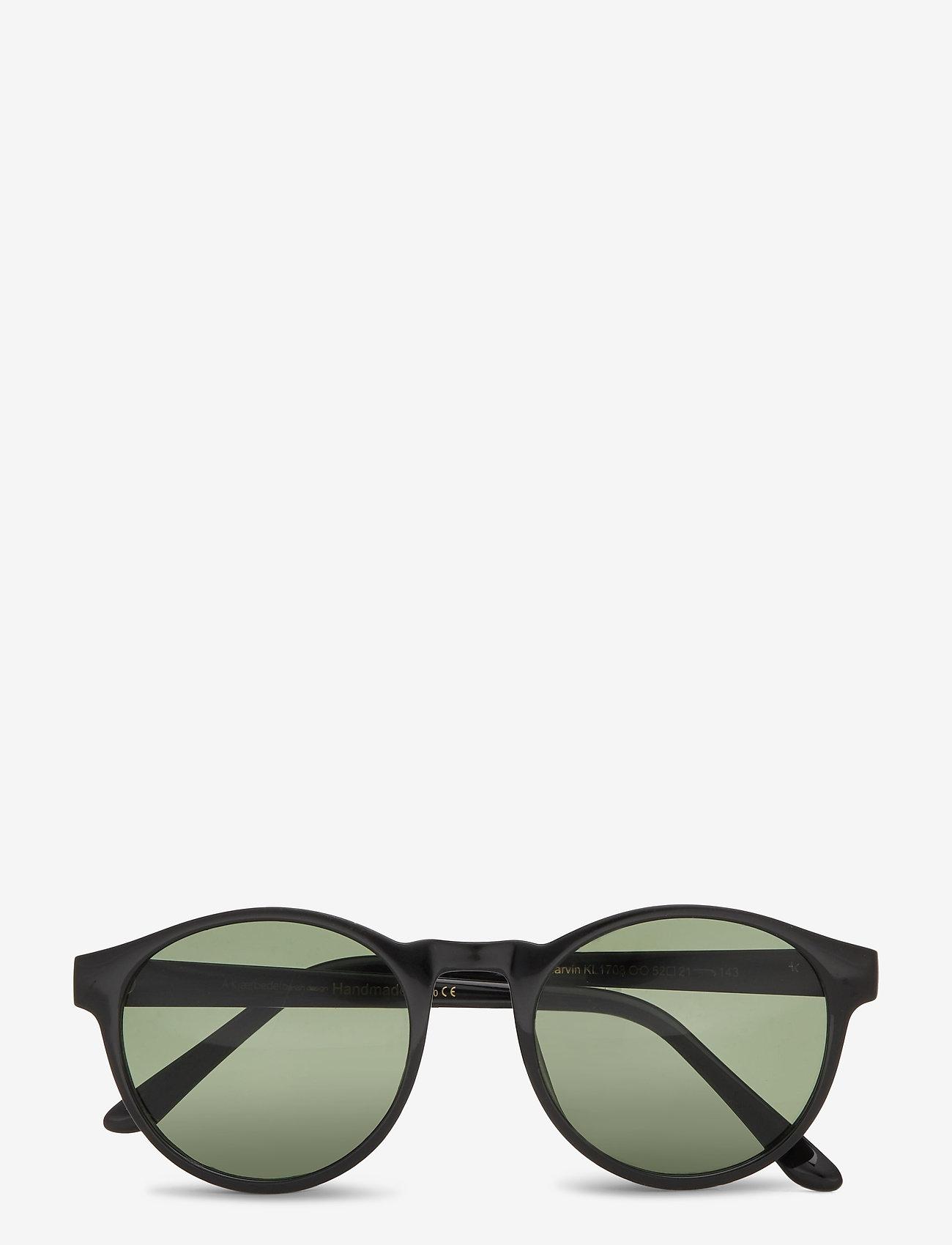 A.Kjærbede - Marvin - ronde zonnebril - black - 1