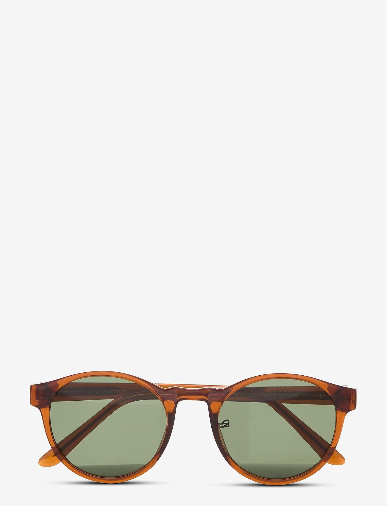 A.Kjærbede - Marvin - ronde zonnebril - brown transparent - 1