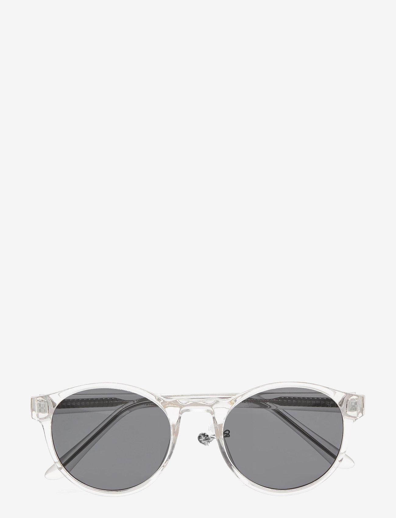 A.Kjærbede - Marvin - ronde zonnebril - crystal - 1