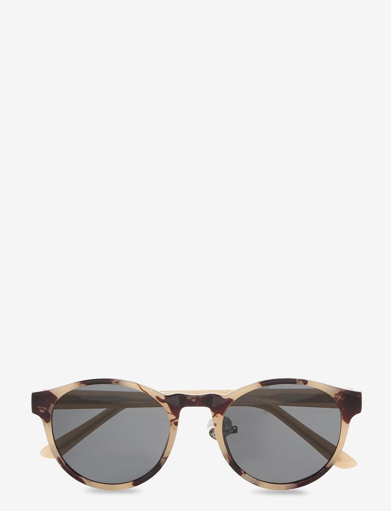 A.Kjærbede - Marvin - ronde zonnebril - hornet - 0