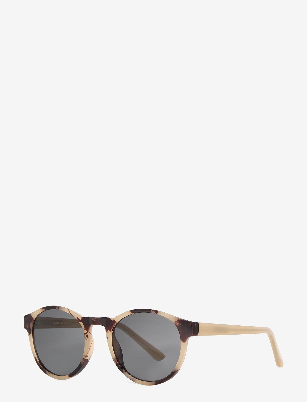 A.Kjærbede - Marvin - ronde zonnebril - hornet - 1