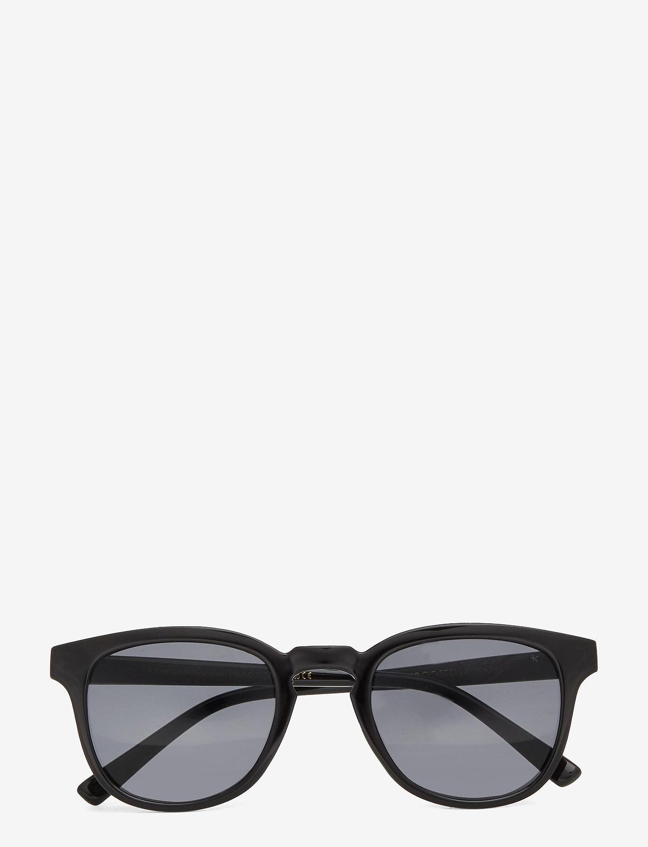 A.Kjærbede - Bate - d-vormige zonnebril - black - 1